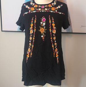 Umgee Black Size Medium Top